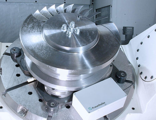 5G sensor technology for collision control protects machine tools and components